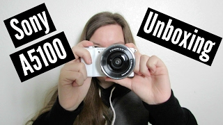 Sony A5100 Camera Unboxing