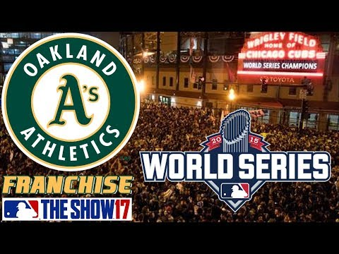 WORLD SERIES - MLB The Show 17 - Franchise Mode - Oakland Ep. 26