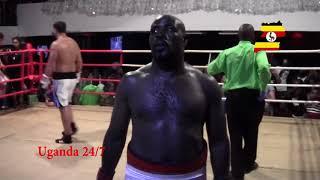 JOEY VEGAS LUBEGA (Uganda) Vs KENNETH EGAN (Ireland) NATURE AFRICA CHARITY FIGHT, UGANDA Oct 2017