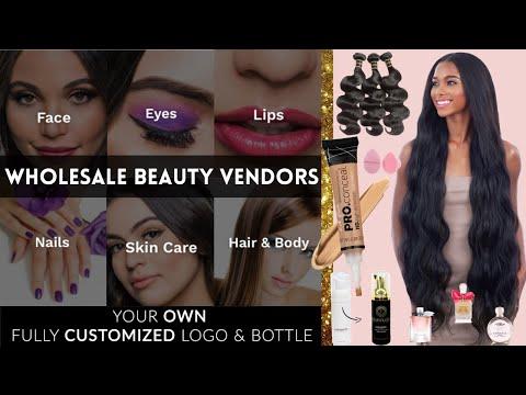 Wholesale Vendor List: Beauty