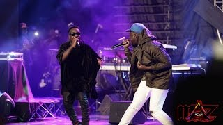 Sarkodie performs