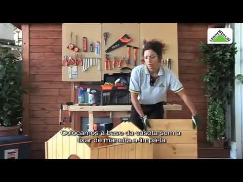 Como montar casota de c o youtube for Prezzo cuccia cane leroy merlin