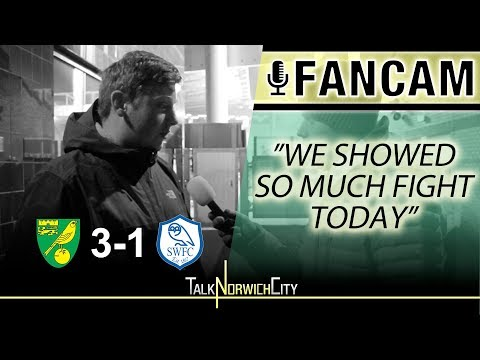NORWICH 3-1 SHEFF WEDS - 'WE SHOWED SO MUCH FIGHT TODAY'