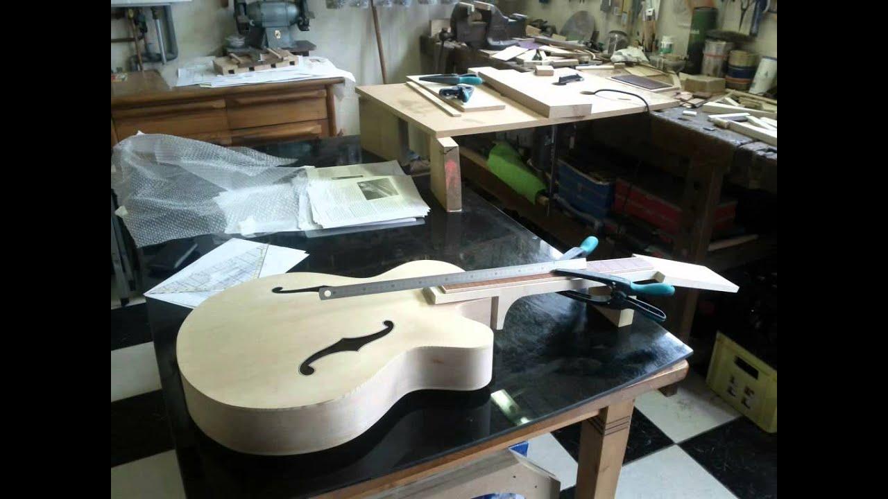 Building an archtop jazz guitar 2012 youtube solutioingenieria Choice Image