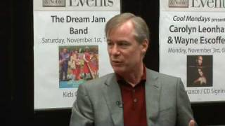 David Robertson: Offstage at Barnes & Noble (1 of 7)