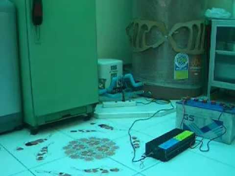 ทดสอบ Inverter BP-P1000W กับตู้เย็นและปั๊มน้ำ