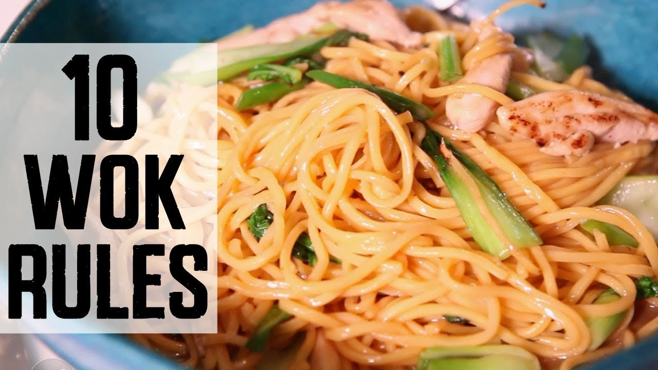 Jet tilas 10 secrets for cooking with a wok food network youtube jet tilas 10 secrets for cooking with a wok food network forumfinder Image collections
