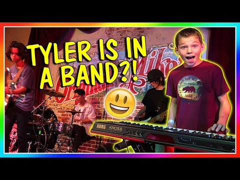 TYLER IS IN A BAND! | We Are The Davises
