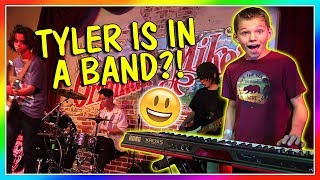 TYLER IS IN A BAND!   We Are The Davises