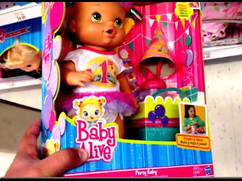 Baby Alive Party Baby Doll With Noise Maker Sippy Cup