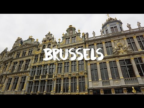 One Day In Brussels Travel Video [Sony A6000]