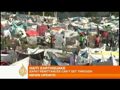 Cash remittances hit by Haiti quake