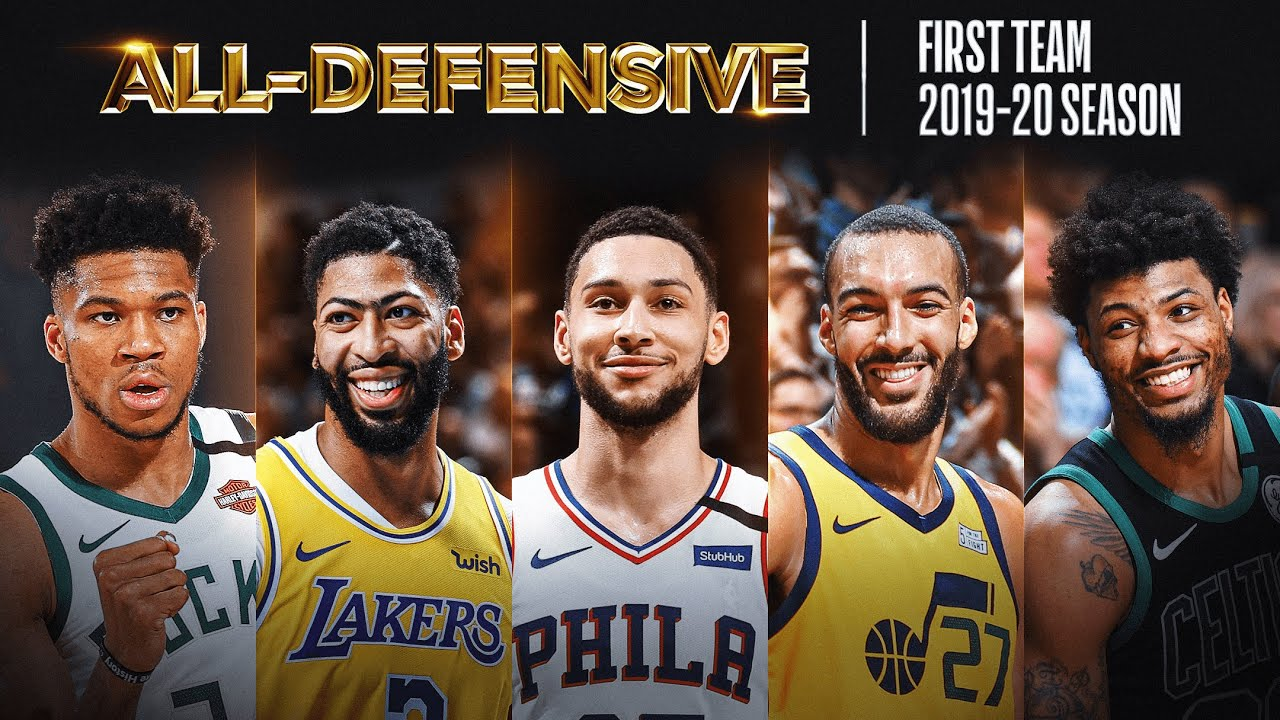 The Best Of The 2019-20 NBA All-Defensive First-Team!