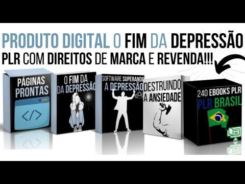 """Infoproduto com Direitos de Marca Própria e Revenda """"O Fim da Depressão"""""""