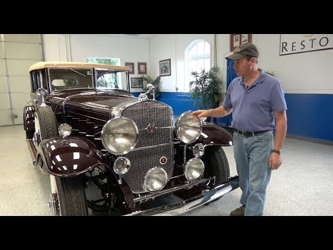 1931 Cadillac V-16 All Weather Phaeton Features
