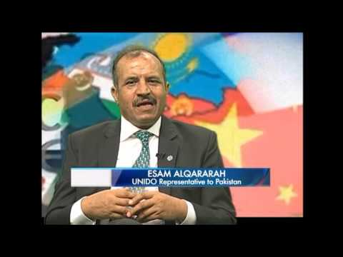 The road towards achieving the SDGs  Mr Neil Buhne UNRC & UNIDO Rep Mr. Esam Alqararah on PTV world
