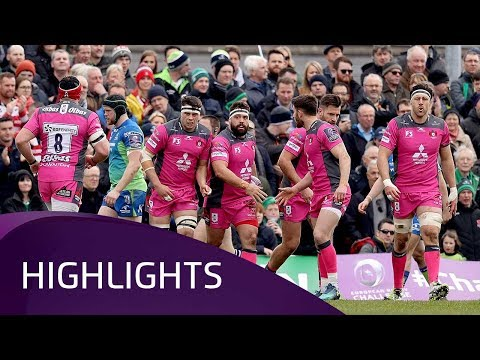 Connacht Rugby v Gloucester Rugby (QF3) -  Highlights – 31.03.2018