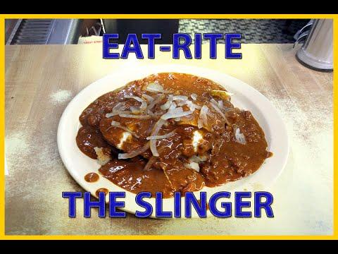 EAT-RITE diner - The Slinger!  Greasy Spoon - St. Louis Landmark on Route 66