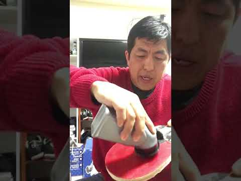 How to increase PingPong/ Table Tennis rubber grip
