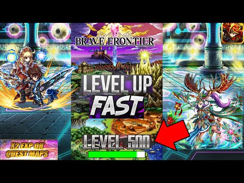 Brave Frontier - How To Get To Level 999 Fast! (Guaranteed!)
