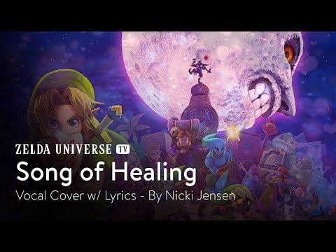 """""""Song of Healing"""" (Majora's Mask) - Vocal Cover by Nicki Jensen [w/ Lyrics]"""