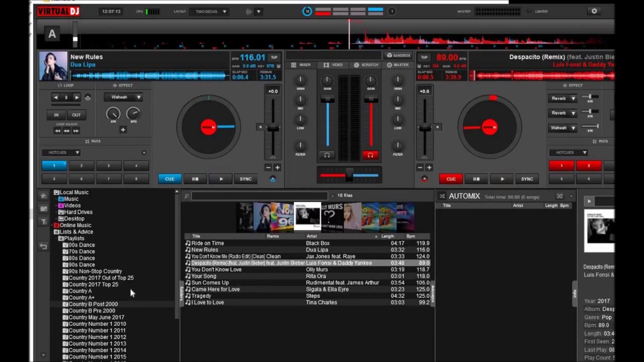 virtual dj for pc 10