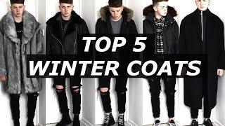 Top 5 Winter Coats | Gallucks