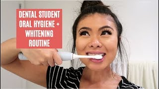 MY ORAL HEALTH ROUTINE + WHITENING // LauraSmiles