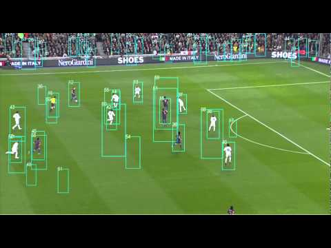 Football Soccer Players Detection And Tracking Raw