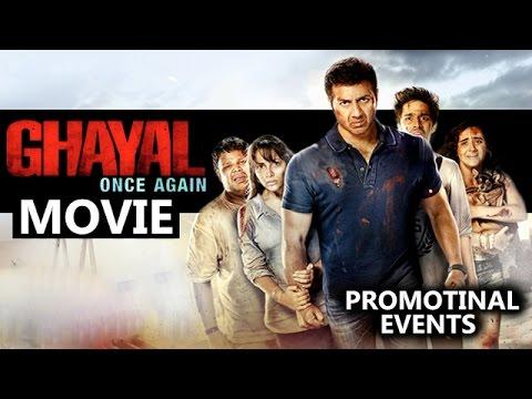 Ghayal Once Again Movie (2016) | Sunny Deol, Soha Ali Khan, Om Puri | Promotional Events