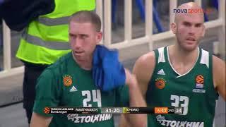 Παναθηναϊκός - Χίμκι 93-65 Euroleague 7η αγ.  {14.11.2017}