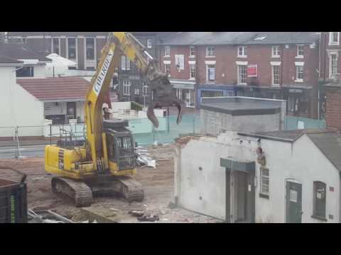 Express & Star's Stafford office gets demolished