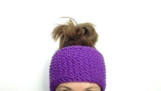 How to Loom Knit a Seed Stitch Headband (DIY Tutorial)