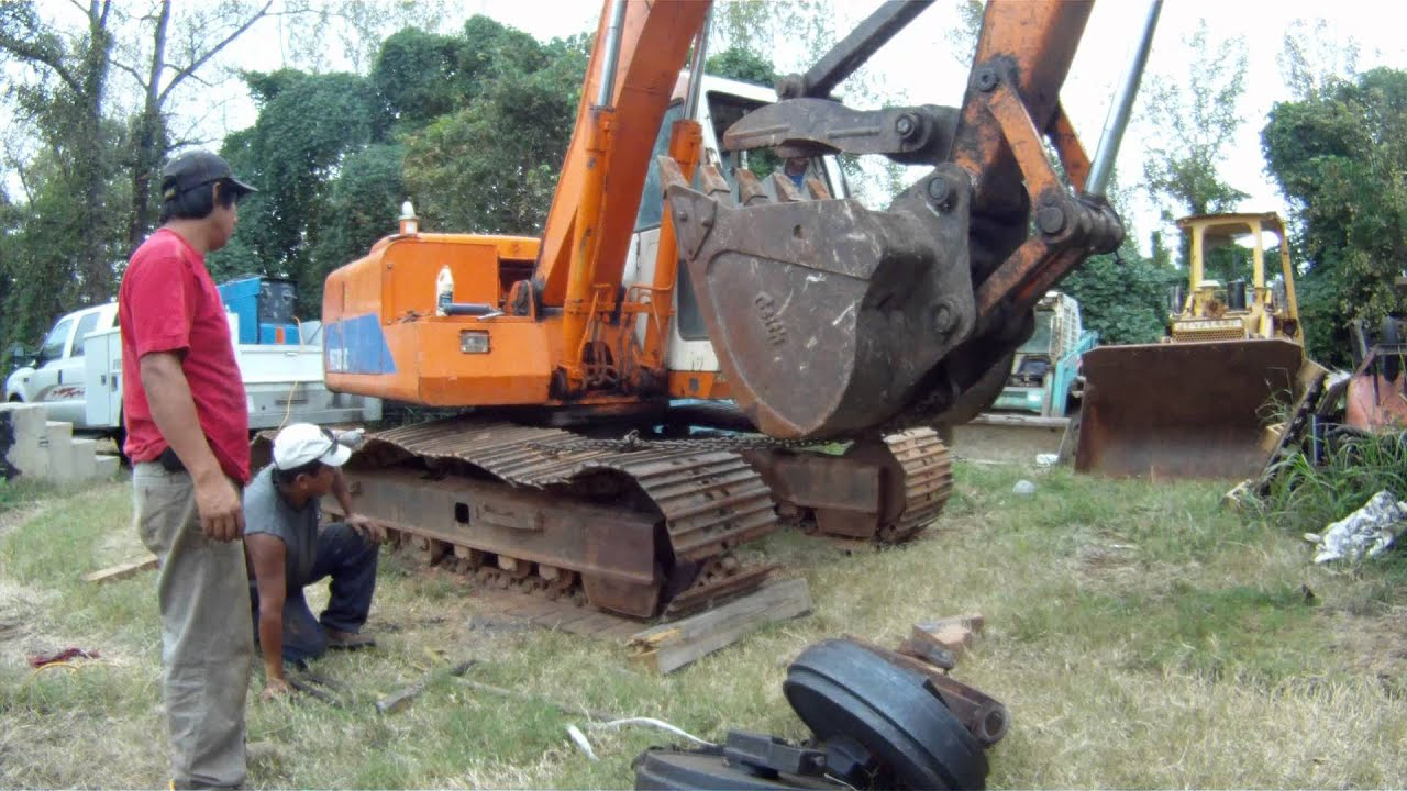 How To Modify Excavator Track Frame To Utilize Non OEM