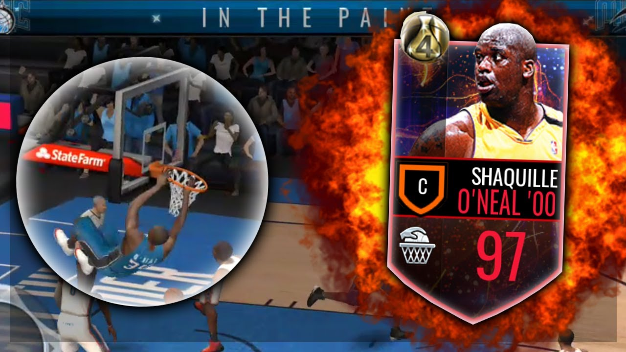 Nba live mobile 97 finals mvp shaq is a glitch for Where does shaq live
