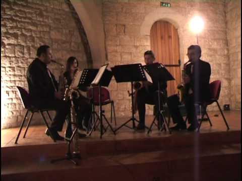 "Astor Piazzolla ""Libertango"" - Mediterraneo Saxophone Quartett"