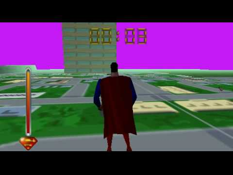 Superman 64 Gameplay Video