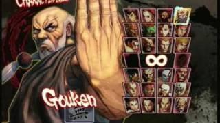 Unlocking Gouken in Street Fighter IV