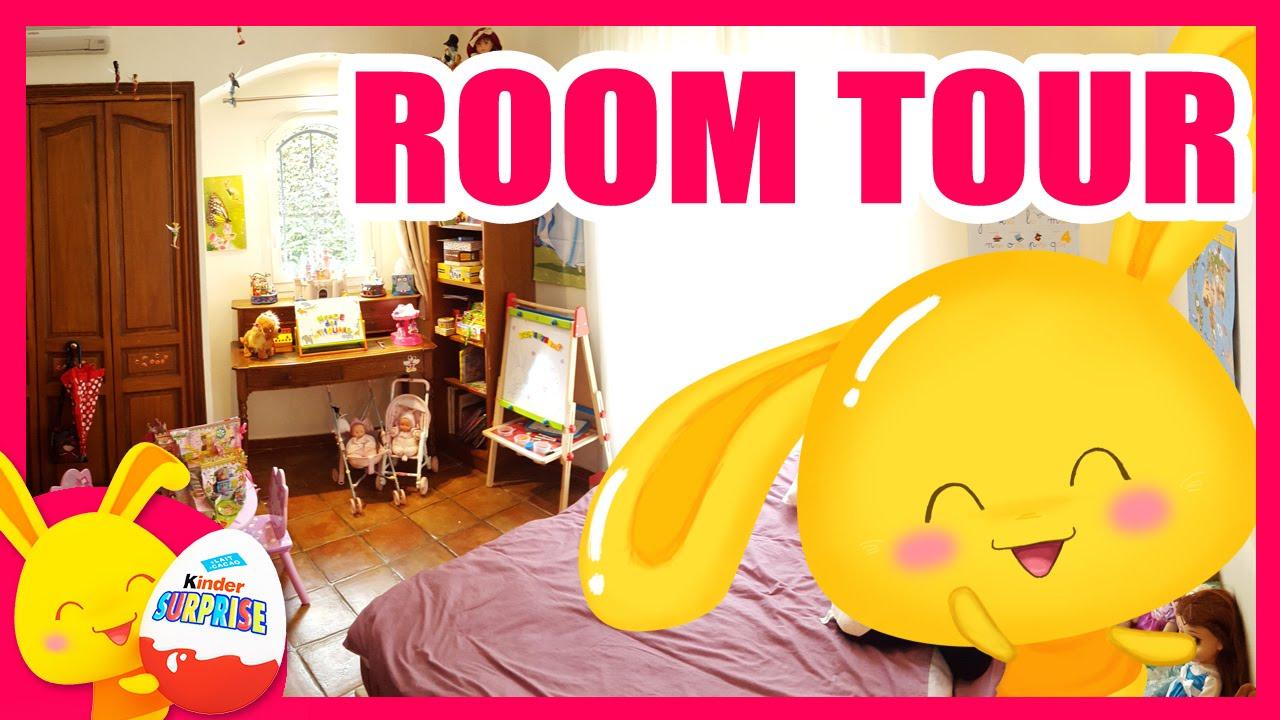 Room Tour  Chambre De Deux Petites Filles  Jouets Pour