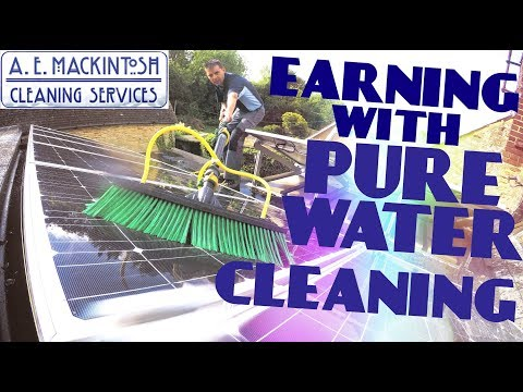 Earning With Pure Water Cleaning