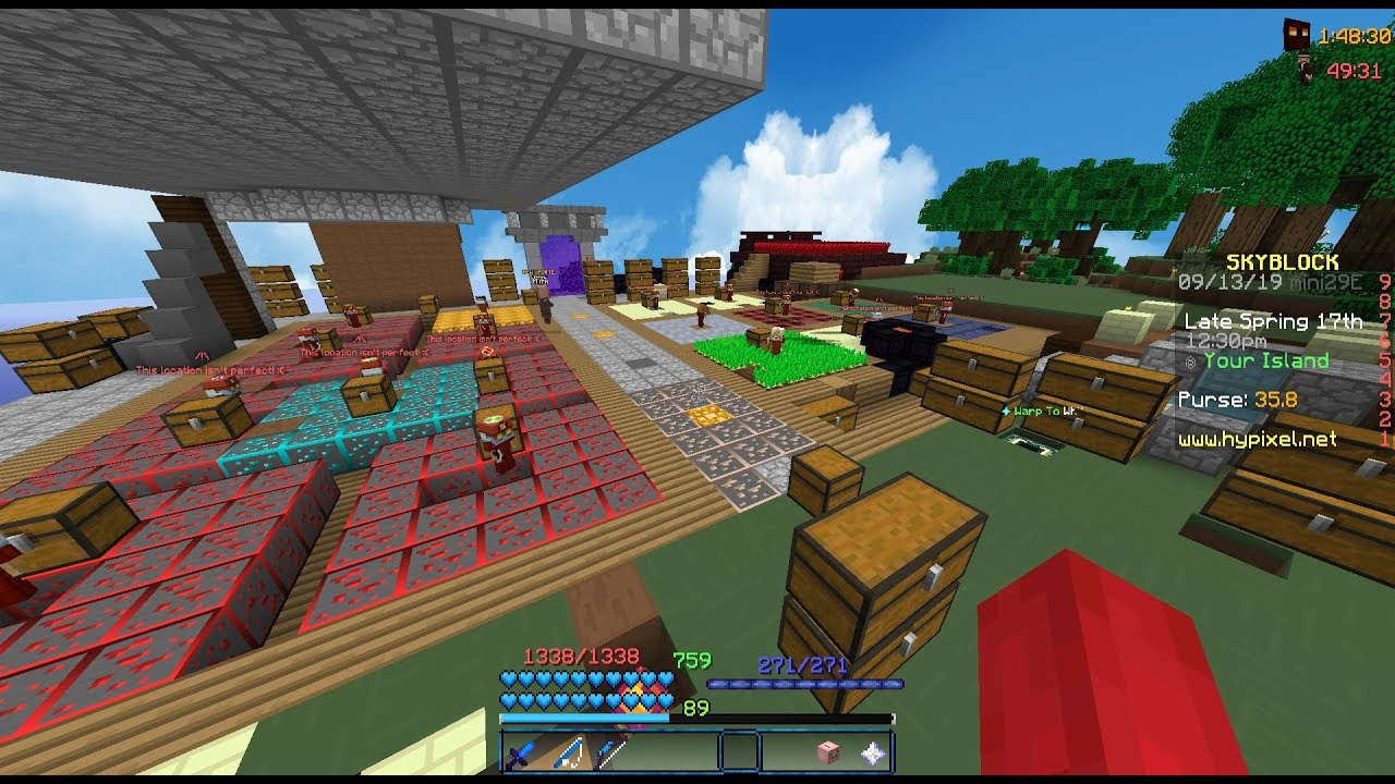 Hypixel Skyblock - Actually fighting dragons + giveaway
