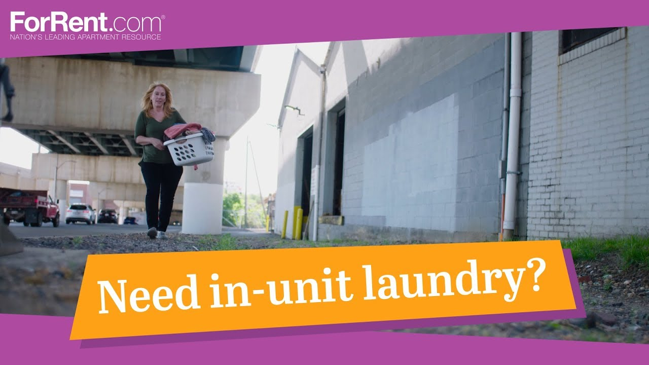 Find An Apartment With In Unit Laundry At ForRent.com