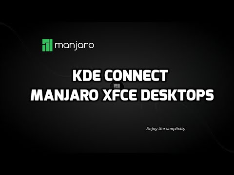 KDE Connect in XFCE - Connect Android to PC