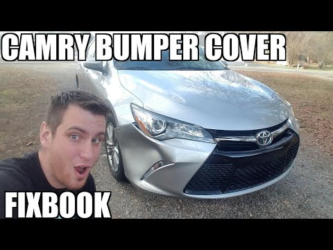 "Front Bumper Cover 12-17 Toyota Camry Replacement ""How to"""