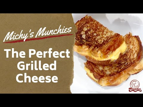 the-perfect-grilled-cheese-recipe-|-michy's-munchies