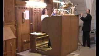 G.F.Handel - Sonata in G Minor for flute and basso continuo (organ) (Dmitriy and Yuliya Varelas)