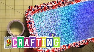 Duck Tape Crafts: How to Make a Magnetic Message Board with Mr.Kate