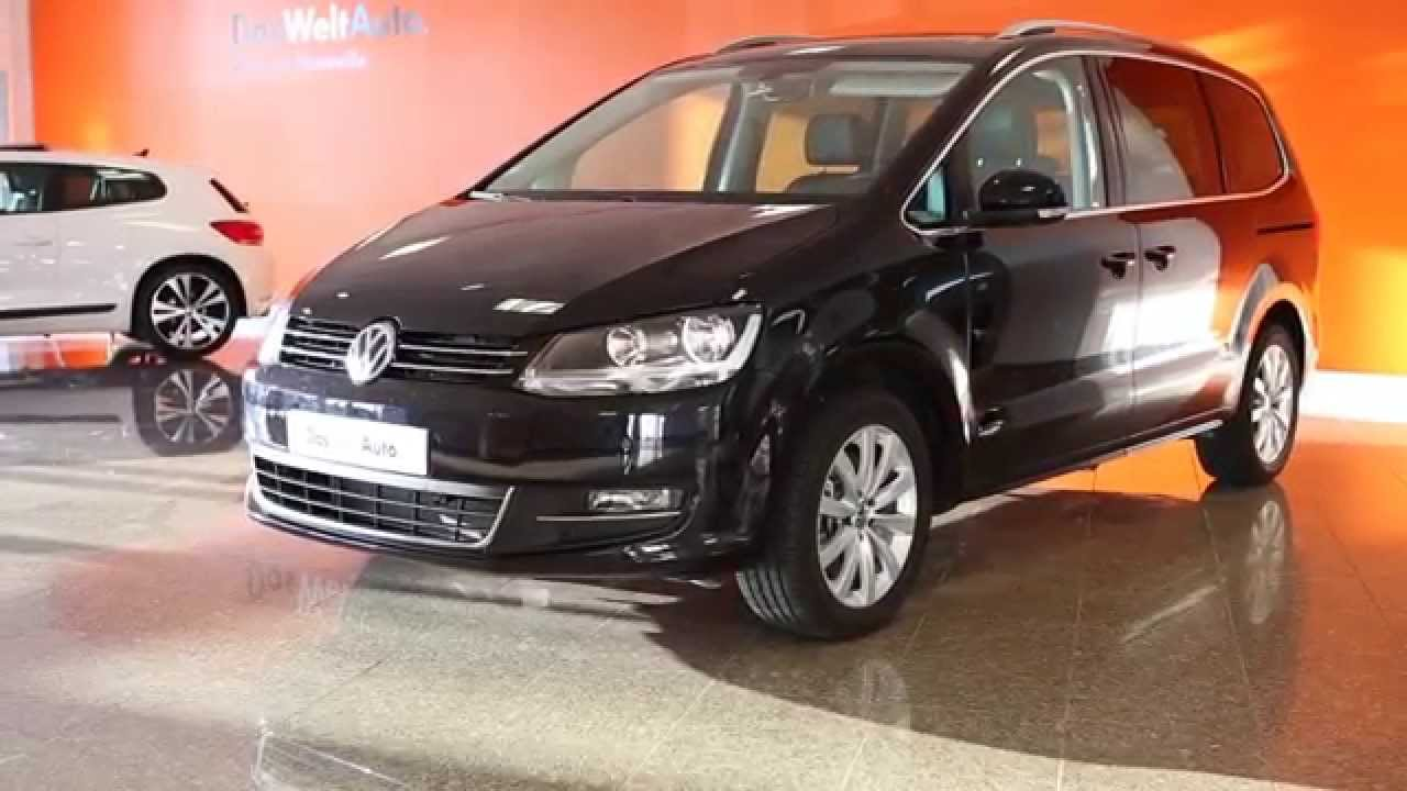 volkswagen sharan occasion 2 0 tdi 184 bluemotion technology carat dsg6 noir intense nacr 24761. Black Bedroom Furniture Sets. Home Design Ideas