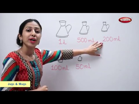 CBSE Class 2 Maths | Chapter 7 : Jugs and Mugs | NCERT | CBSE Syllabus | Measuring Capacity