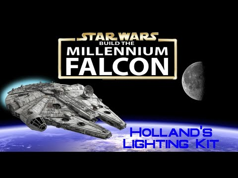 Build the Millennium Falcon 3rd Party Add-ons: Holland's Lighting Kit